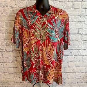 Saddlebred 🌴Floral Tropical Hawaiian shirt